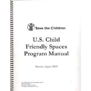 Save the Children: U. S. Child Friendly Spaces Program