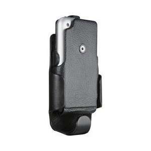 Case Mate ( CaseMate ) Premium Leather Flip Case Cover & Swivel Clip