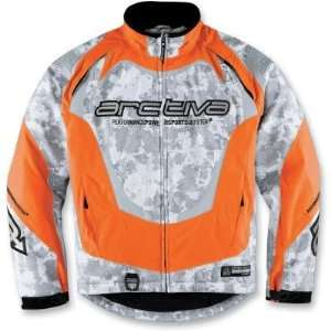 Shell Jacket , Gender: Mens, Color: Orange Camo, Size: Md 3120 0779