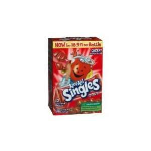 Kool aid Singles Cherry (For 16.9 ounce Bottles), 12 count Packets (1
