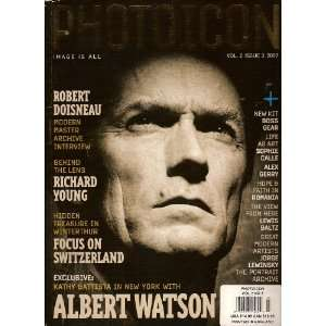 PhotoIcon (Image Is All; Robert Doisneau; interview with Albert Watson