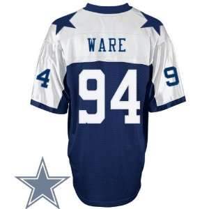 Dallas Cowboys #94 DeMarcus Ware Blue Thanksgivings Jersey Authentic