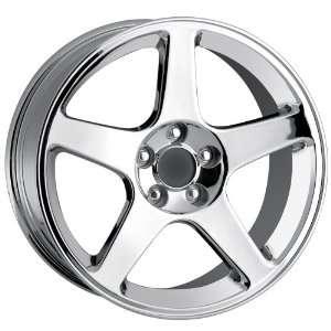 18x10.5 Detroit Style 815 (Chrome) Wheels/Rims 5x114.3