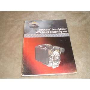 Vanguard Twin Cylinder Ohv Liquid cooled Engines Repair Manual briggs