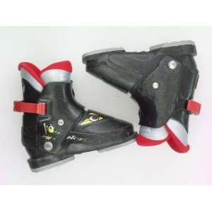 Used Nordica Super 0.1 Rear Entry Ski Boots Toddler Size