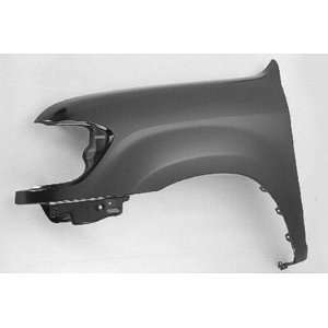 LH FENDER W/O FLARE HOLES DOUBLE CAB CAPA: Automotive