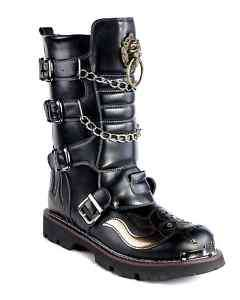 visual kei GOTHIC PUNK Kera rock hard metal Boots shoes