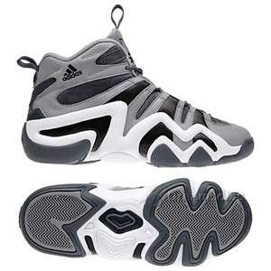 Adidas Crazy 8   Kobe Bryant 1 Shoes (G48589) GREY/WHITE   US Men