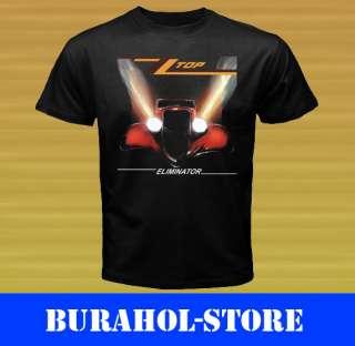 New ZZ Top Rock Band Tour Black T Shirt size S M L XL 2XL 3XL tee