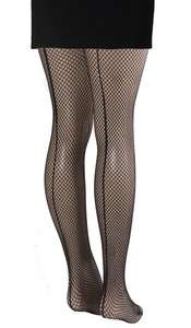 womens black fishnet tights,pantyhose with back seam,One size, 937