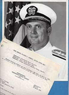 1974 Rear Admiral Richard A Paddock Born 1925 Auburn New York Photo