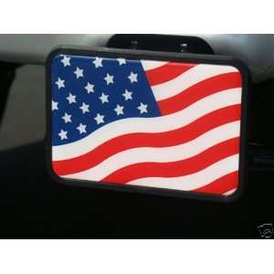 UNITED STATES AMERICAN FLAG TOW HITCH COVER