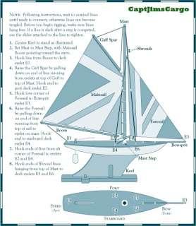 British Navy Union Jack Flag Pond Yacht Model Ship 31