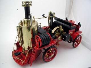 Wilesco D305 Fire Truck Model Steam Power Engine w/Pump