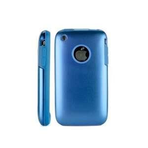 iPhone 3g 3gs Aluminum metal hard Case Cover BLUE
