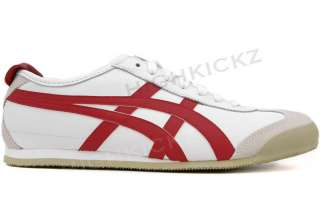 Asics Onitsuka Tiger Mexico 66 HL202 0123 New Men Women White Red