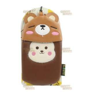 Fits,iPhone 4 4s Case 3G 3GS Cover,iPod Touch,,MP4,Leather Cartoon