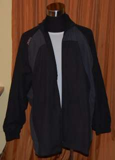 Nike LEBRON JAMES L23 BLACK ATHLETIC JACKET MENS XL