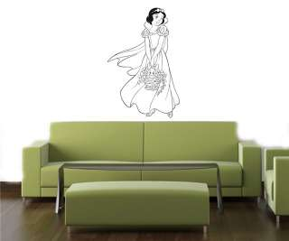 SNOW WHITE DISNEY Wall MURAL Vinyl Decal Sticker 011