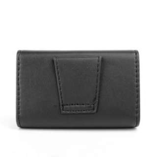 Magnetic Leather Digital Camera Mobile Phone Bag MiNi