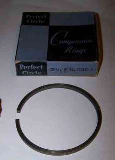 NOS PERFECT CIRCLE Compression Rings 3 11/16 030