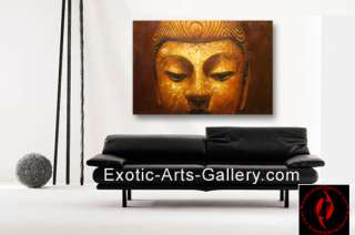 Feng Shui Painting , Buddha painting Hand Painted oil on canvas