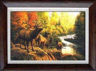 Sale great wild animal oil paintingDeer
