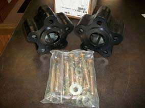 NEW John Deere Front Mower Dual Wheel Conversion Kit