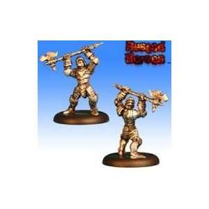 Rusted Heroes: Sir Lessen   Foot Knight with Two Handed Great Axe