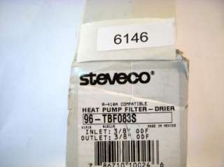 Bi Flo Heat Pump Refrigerant Filter Drier 96 TBF083S
