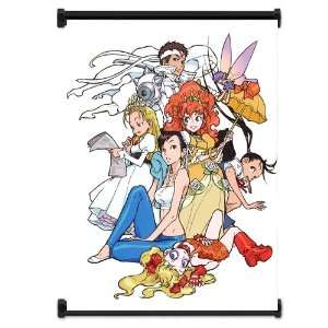 Street Fighter Anime Game Group Fabric Wall Scroll Poster