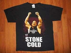 Vtg WWE Wrestling shirt Stone Cold Boys youth Large shirt L