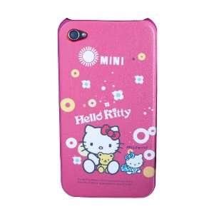 Hello Kitty iPhone 4 Hard Case Pink   Mini Design