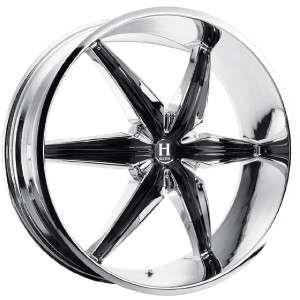 24 inch Helo HE866 chrome wheels rims 6x5 6x127 +32