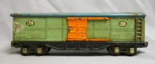 Vintage Lionel Lines 1719 Baggage Box Car O Gauge Pre war Tin