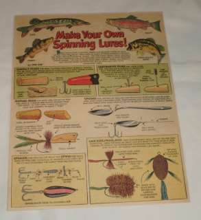 1959 fishing cartoon page make your own spinning lures for Create your own fish