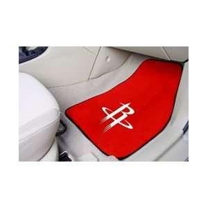Houston Rockets NBA Car Floor Mats (2 Front) Automotive