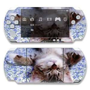 Sony PSP 1000 Decal Skin   Cute Kitty Cat