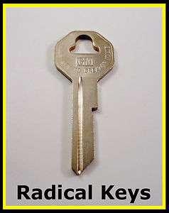 Chevy Chevrolet Corvette Key Blank 1953 1954 1955 1956