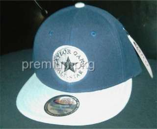 ALLSTAR 2TONED WIZ KHALIFA VINTAGE STYLE SNAPBACK FLAT BILL CAP HAT