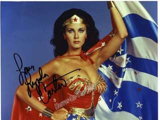 If you are a Lynda Carter or Wonderwoman fan, you gotta have this