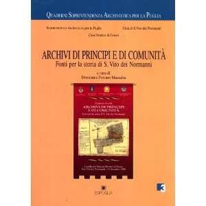dei Normanni (Quaderni Soprintendenza Archivistica per la Puglia, 3
