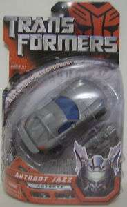 AUTOBOT JAZZ Transformers Movie 1 Deluxe Autobot 2007