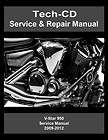 Yamaha V Star 950 Service Repair Manual VStar XVS950 2009 2010 2011