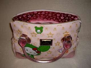 HELLO KITTY TOKIDOKI Sandy Sanrio Boston Bag Tote Shopper Travel