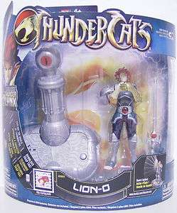 LION O Thundercats 4 inch Deluxe Action Figure Pack Bandai 2011