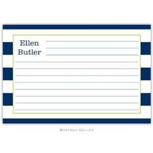 Boatman Geller   Custom Recipe Cards (Awning Stripe)