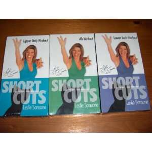 Sansone   3 VHS Set (Upper Body Workout/Lower Body Workout/Ab Workout