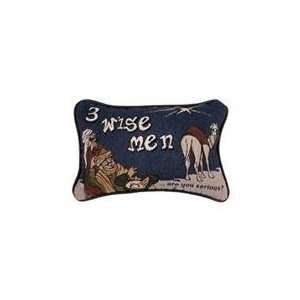 Set of 2 Three Wise Men Decorative Christmas Throw Pillows