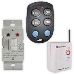 X10 Remote Control Light Switch Kit (WS467+KR19A+TM751)